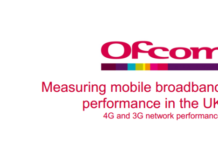 Ofcom 3G and 4G broadband speed test