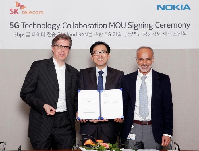 SK Telecom, Nokia plan to demo 5G