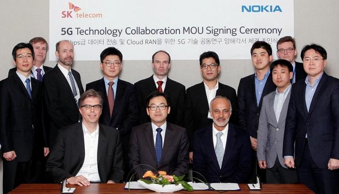 SK Telecom, Nokia to demo 5G