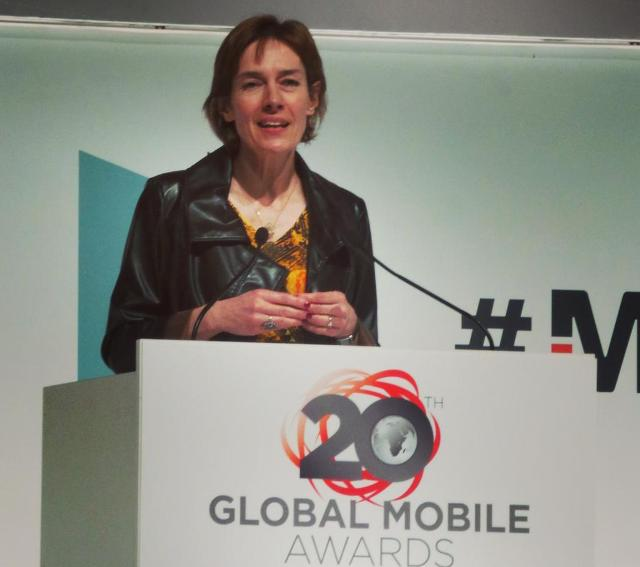 Anne Bouverot, Director General of the GSMA at MWC 2015