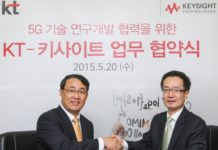 Keysight and KT sign 5G agreement