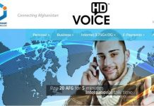 Afghan Wireless HD Voice