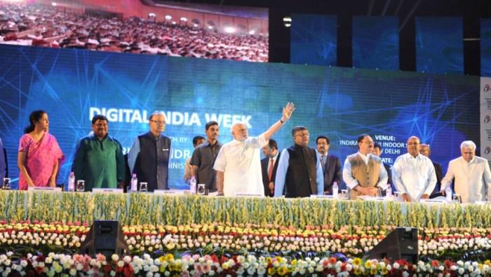 Modi at Digital India launch