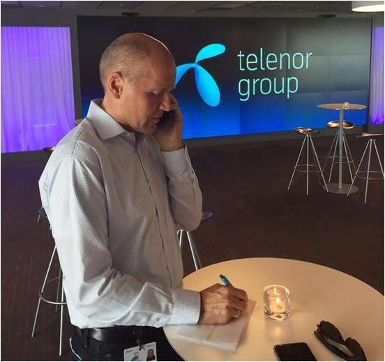 Telenor CEO Sigve Brekke