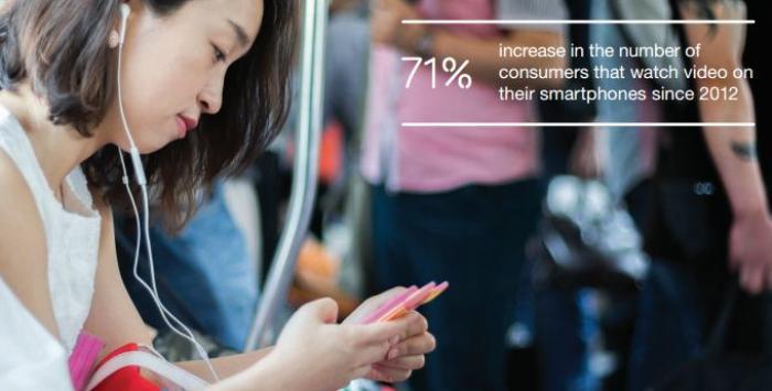 Video on smartphones Ericsson report