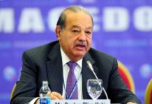 America Movil CEO Carlos Slim