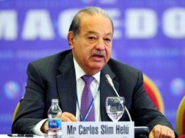 America Movil CEO Carlos Slim