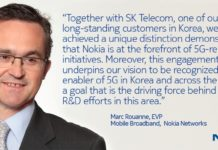 Marc Rouanne, executive vice president, Mobile Broadband, Nokia Networks