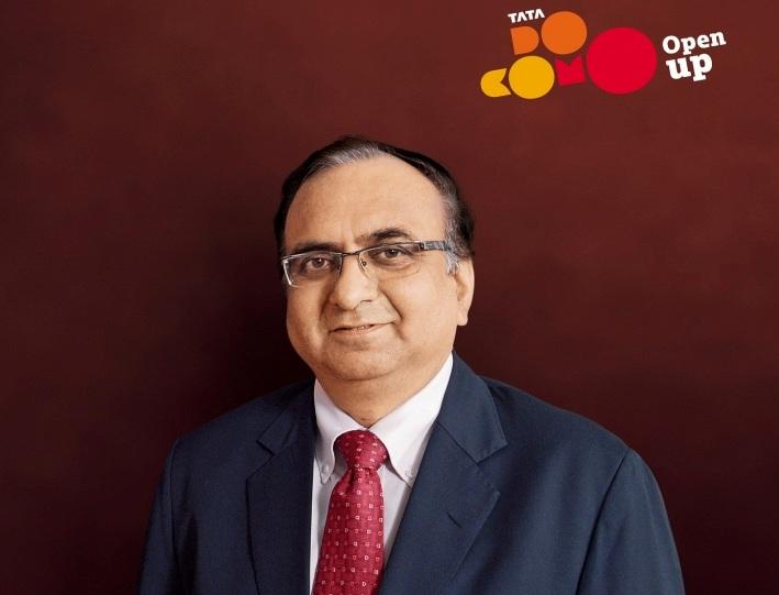 Tata Teleservices head - Non Voice Services  Sunil Tandon