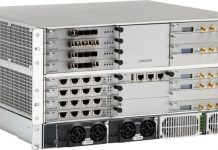 ION-E central area node transports wireless capacity