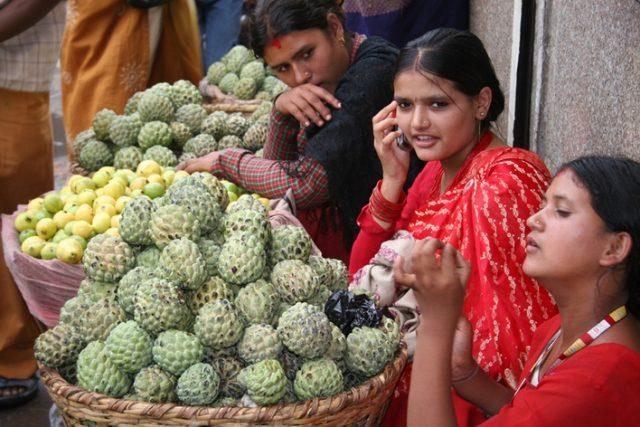 Nepal smartphone user image by Sanjaal
