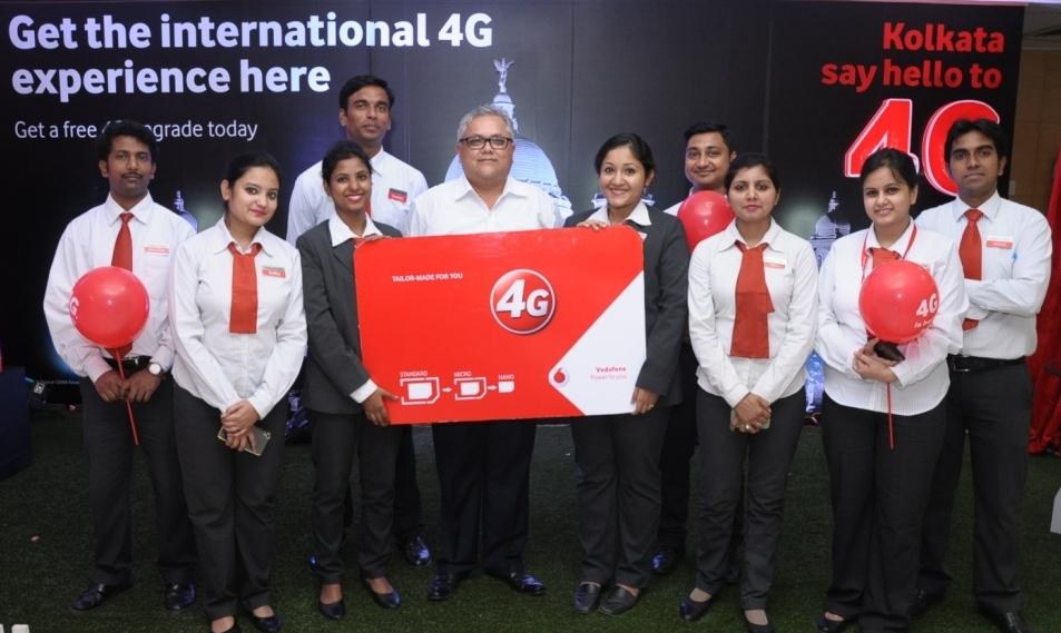 Vodafone to add 4G in Kolkata