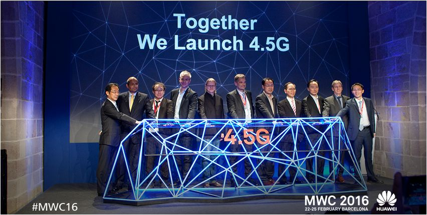 Huawei GigaRadio base station for 4.5G networks