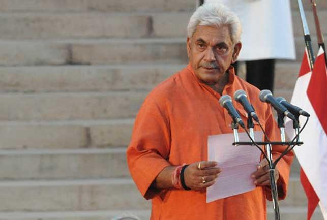 India's telecom minister Manoj Sinha