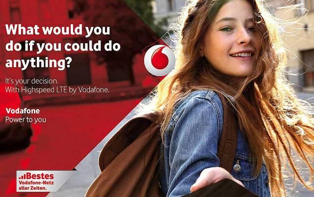 Vodafone LTE network
