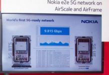 5G demonstration by Nokia and Ooredoo Qatar