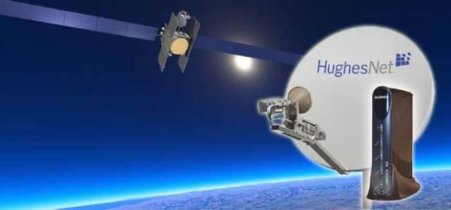 Hughes broadband satellite