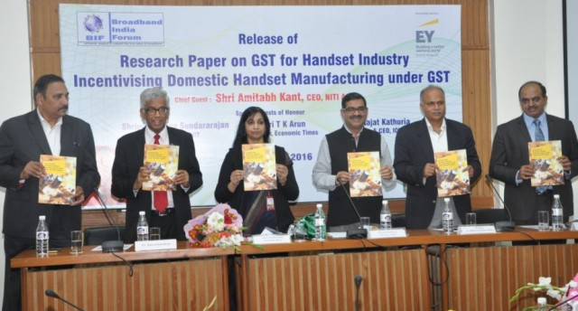 Phone manufacturing and GST