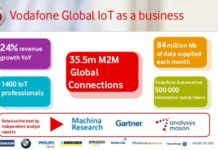 Vodafone IoT business