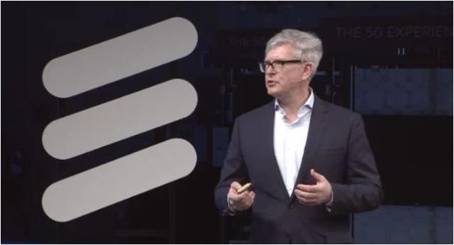 Ericsson CEO Borje Ekholm at Mobile World Congress 2017