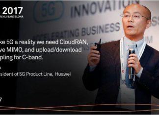 Huawei 5G at MWC 2017