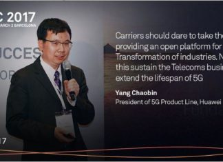 Huawei 5G products at MWC 2017