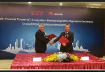 Huawei-oracle partnership