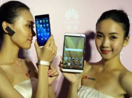 Huawei phone campaign in China