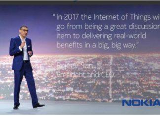Nokia CEO Rajiv Suri at MWC 2017