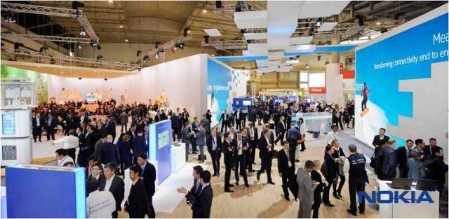 Nokia booth at MWC 2017