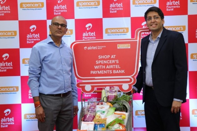 Spencer's Retail partners with Airtel Payments Bank