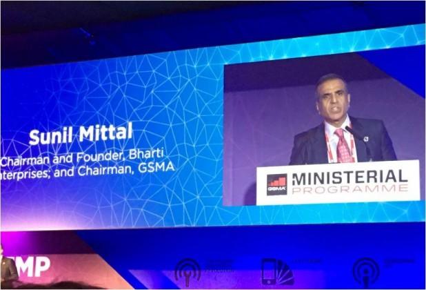 Sunil Mittal of Airtel at MWC 2017
