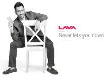 Lava product campaign with MS Dhoni