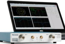 Tektronix vector network analyzer
