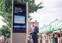 BT offers free WiFi in London