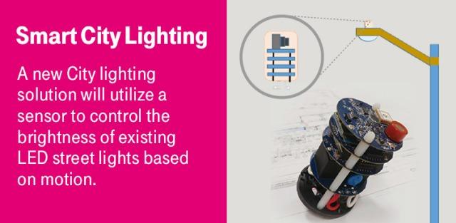T-Mobile IoT for smart city lighting in Las Vegas