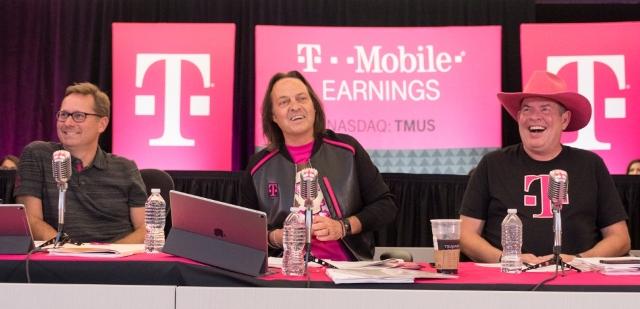 T-Mobile revenue Q2 2017 press meet