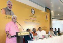 telecom minister Manoj Sinha in Mumbai
