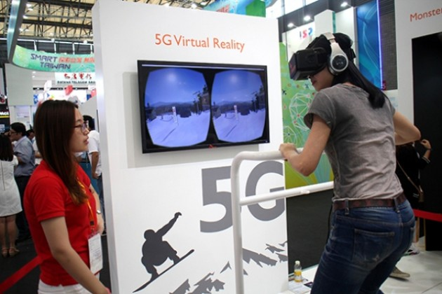 5G for VR