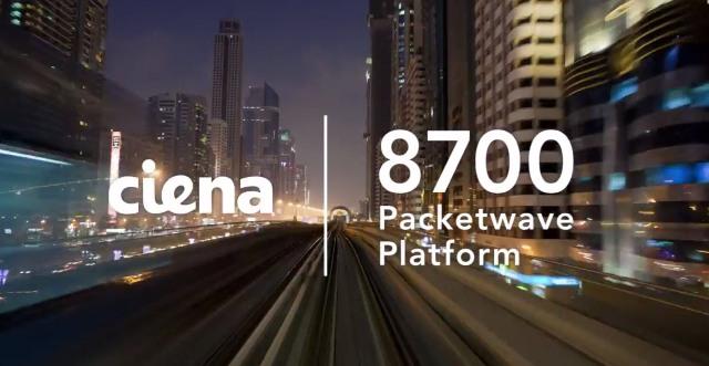 8700Packetwave platform from Ciena