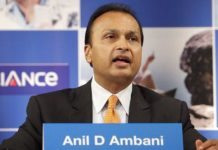 Anil Ambani of Reliance Communications