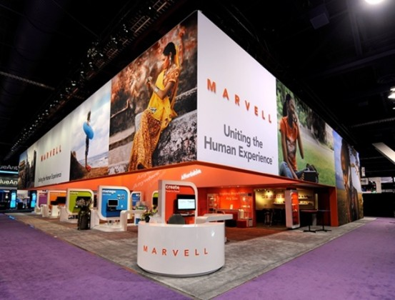 Marvell at trade show