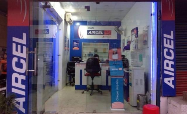 Aircel SIM shop in India