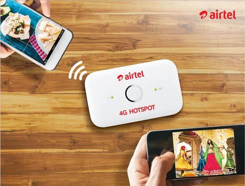 Airtel 4G Hotspot price