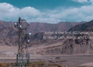 Airtel 4G in Ladakh