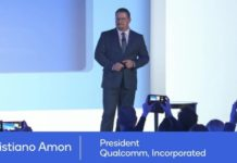 Cristiano Amon, president of Qualcomm