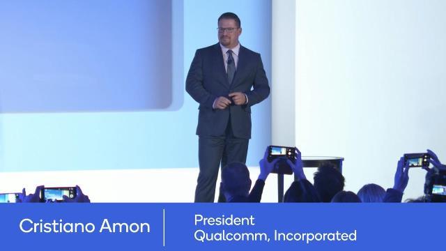 Cristiano Amon, president of Qualcomm