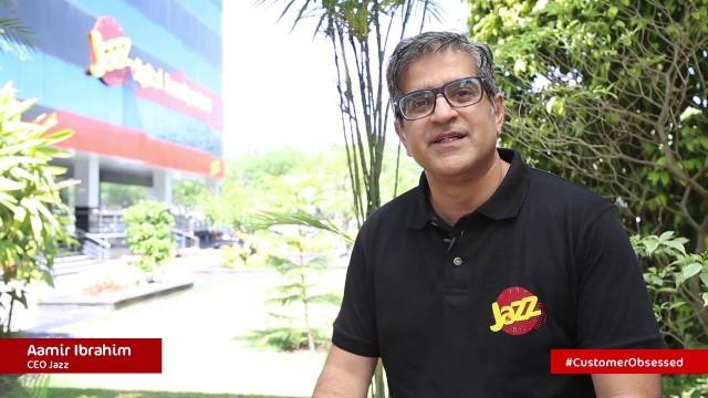 Aamir Ibrahim, CEO of Jazz