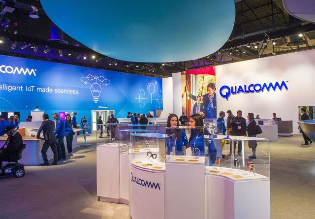 Qualcomm for mobile chips