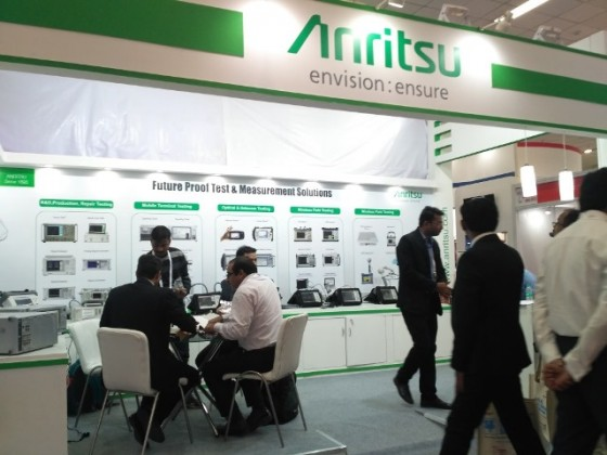 Anritsu at Convergence India 2018